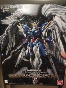Bandai High-resolution model Wing Gundam Zero EW 1/100 US Seller