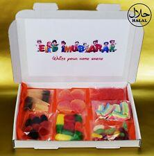 Personalised 100% Halal Ramadan Eid Sweets Box Gift Hamper for Her / Him / Kids