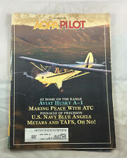 Sept 1995 Navy Blue Angels   AOPA Pilot Magazine Airplane Aviation