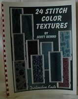 24 Stitch colour textures Book Standard Gauge Knitting Machines Scott Renno M071
