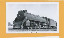 Canadian Pacific 4-6-4 Steam Locomotive #2848 - B&W Railroad Photo