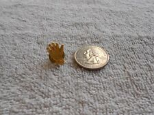 Small Gold Tone Gloved Hand Pin