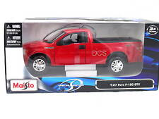 MAISTO 2010 FORD F-150 RED STX 1/27 DIECAST CAR