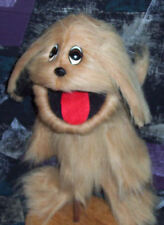 Buster Shaggy Dog Soft Ventriloquist Puppet w/ wagging tail-Christian Education