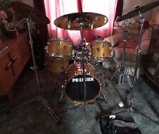 More details for used premier drum kit