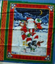 Santa and Polar Bear Panel