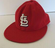 St Louis Cardinals MLB Baseball Cap by New Era Red Size 7 1/8  #9999