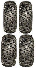 Full set of GBC Dirt Tamer (6ply) 26x9-12 and 26x12-12 ATV Tires (4)