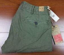 RRL Ralph Lauren Double Ralph Lauren Hombre Vintage Chino excedentes militares Pantalones 29 30