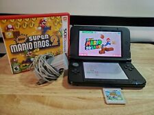 Nintendo 3ds XL Blue Bundle With 3 Games Super Mario Bros