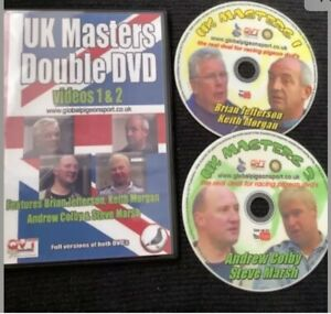Racing Pigeon Double Dvd Top Tips Steve Marsh A Colby Keith Morgan & More