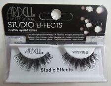 (LOT OF 10)  Ardell Studio Effects WISPIES False Lashes Eyelashes Black Strip