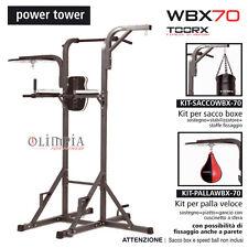 Toorx WBX-70 TORRETTA POWER TOWER Multistazione Trazioni + Supporto SACCO e PERA
