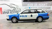 Scale car 1:43, Audi A6 Avant Police Sweden