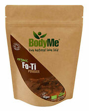 BodyMe Organic Fo-Ti Root Powder 250 g He Shou Wu (Soil Association Certified)