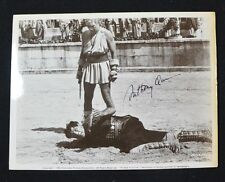 Anthony Quinn (1915-2001) Authentic Autograph 8 x10  Movie Still from Barabbas