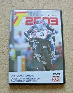 TT ISLE OF MAN 2003 DVD. REGION 0/ALL 2003.