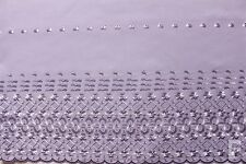 DOUBLE BORDER (SCALLOPED EDGE) POLY COTTON FABRIC - Width 142 cm