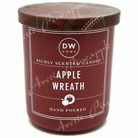 DW Home Small Single Wick 3.8 oz Richly Scented Christmas Candle - Apple Wreath