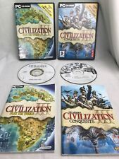 Civilization 3 Expansion Packs Coquests & Play The World Pc Add Ons