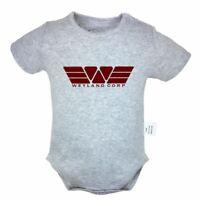 Weyland_corp Designs Newborn Romper Baby Short Sleeve Jumpsuit Bodysuit Clothes