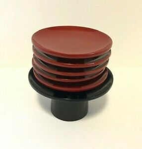 Japanese Lacquer wooden Sake cup Sakazuki 5 pieces with Stand From Japan
