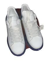 Alexander McQueen Oversized Sneakers - Blue Sole Eu 42 US Men 9.
