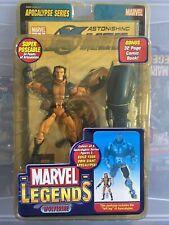 Marvel Legends Apocalypse Series Unmasked Wolverine Variant MIP