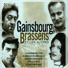 Gainsbourg, Brassens Et... autres - 3 CD - NEUF