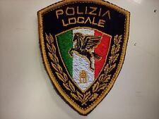 Patch toppa POLIZIA LOCALE ( PRODOTTO COLLEZIONISMO  )  POLIZIA MUNICIPALE