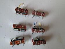 6 Peco PL-10  point motors 16 V AC input