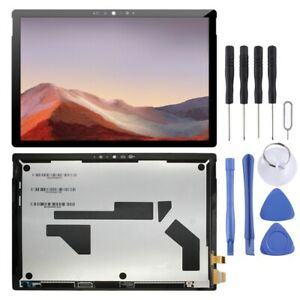 For Microsoft Surface Pro 7 1866 LCD Screen Touch Digitizer Part BLACK