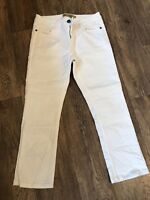 Fat Face White  Capri Jeans 10 24L