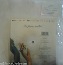 """ORCHESTRAL MANOEUVRES IN THE DARK OMD ~ La Femme Accident 7"""" SHAPED PICTURE DISC"""