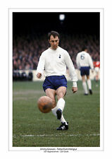JIMMY GREAVES SPURS A4 PRINT PHOTO CAREER STATS TOTTENHAM HOTSPUR GIFT FOR HIM 2
