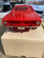1974 PLYMOUTH CUDA RALLY RED Dealer Promo Ertl