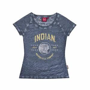 Indian Motorcycle Genuine Apparel - Womens Lace-back Stars Tee - 2867668XX