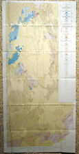 Usgs Nevada Nuclear Test Site Geology Vintage 1957 with Original Maps Nuke It!