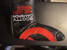 Scotty Cameron Headcover Circle T Black/Red