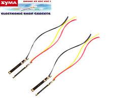 JUEGO DE 4 PLAQUITAS LED (2 Naranja y 2 Verde) LUZ SYMA X5C 1 LED PIEZAS.