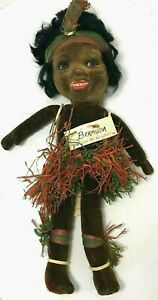 Vintage Norah Wellings Native Island Girl Bermuda Doll Made in England 1934