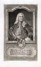 c1745 Pollmann Adam Heinrich von Kupferstich-Porträt P. A. Kilian Lippoldt