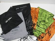 **NEW** YONEX SINGLE TENNIS RACQUET COVER/POUCH WITH DRAWSTRING BAG (VARIOUS)