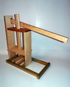 CHEESE PRESS . LARGE DUTCH CHEESE PRESS . Cheese making