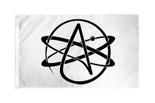 Atheist Flag 3x5 ft Banner Atheism Agnosticism Agnostic A Atom Symbol Religion