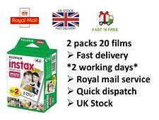 Fujifilm Instax Mini 20 Blanco Película Para FujiFilm Mini 7s/8/25/50/90/70