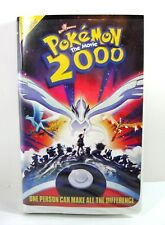 POKEMON the Movie 2000, VHS 2000 Clamshell Video Pikachu's  Rescue Adventure