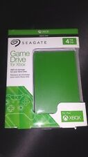 Seagate Game Drive For Xbox 4TB External 5400RPM Portable (Green, New Other)