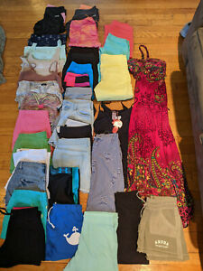 Juniors Lot of 34 Size 4-6, Small. Workout, Shorts, Tanks, Dress