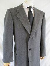HICKEY FREEMAN Customized Clothes Canterbury gray wool dress coat 44R